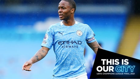 Sterling and Bernardo start in City's Champions League final XI