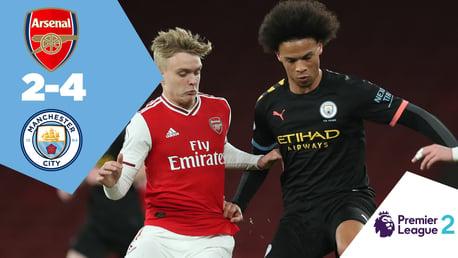 Arsenal 2-4 City EDS: Full match replay
