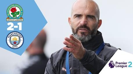 Blackburn v City EDS: Full match replay