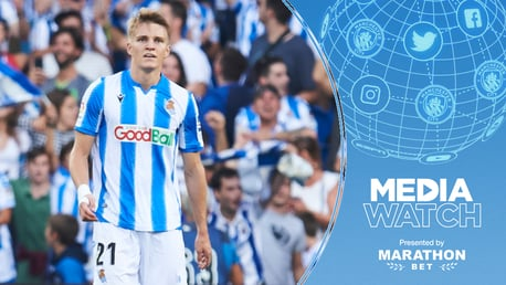 TARGET?: It's claimed City are monitoring Martin Odegaard, after watching him impress for Real Sociedad