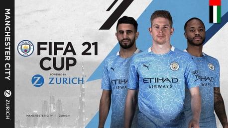 Manchester City and Zurich launch Zurich FIFA 21 Cup