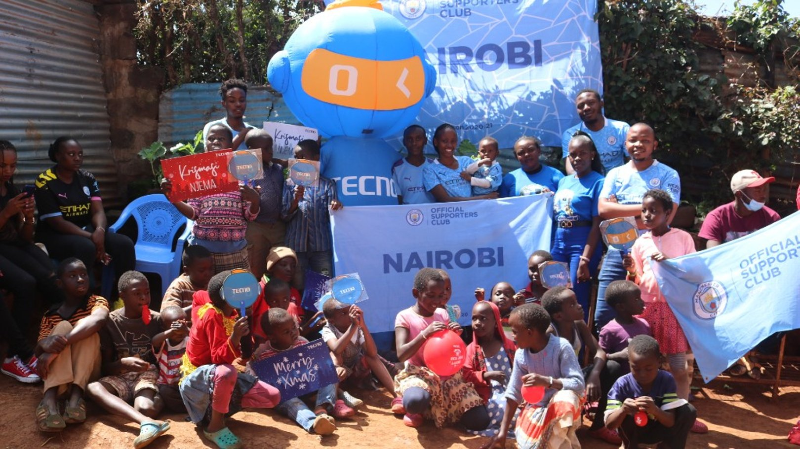 Nairobi Official Supporters Club make positive impact in local community
