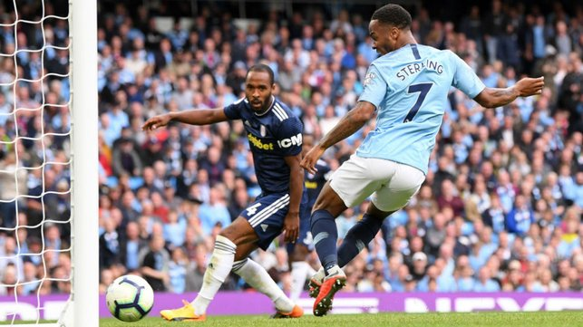 RAZ : Sterling bags City's third from close range