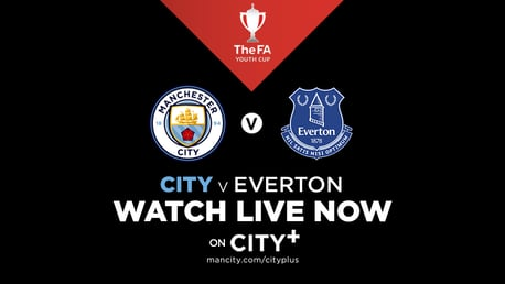 Watch City Under-18s in FA Youth Cup action live on CITY+