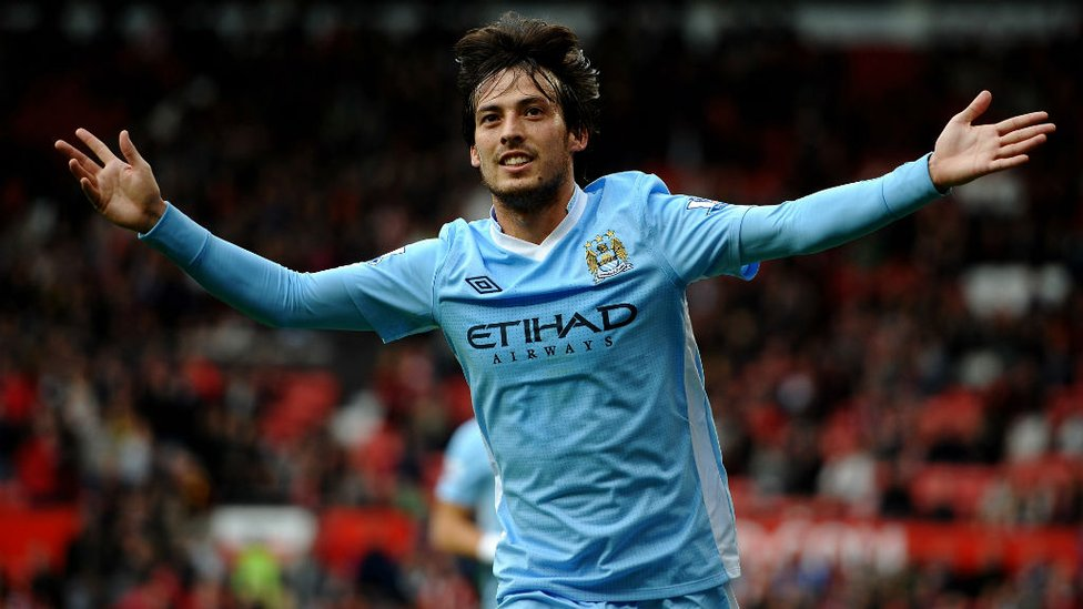 6-1 : We couldn't forget Silva's huge input against our emphatic win over United at Old Trafford, not only did he score but remember THAT pass to Edin Dzeko?!