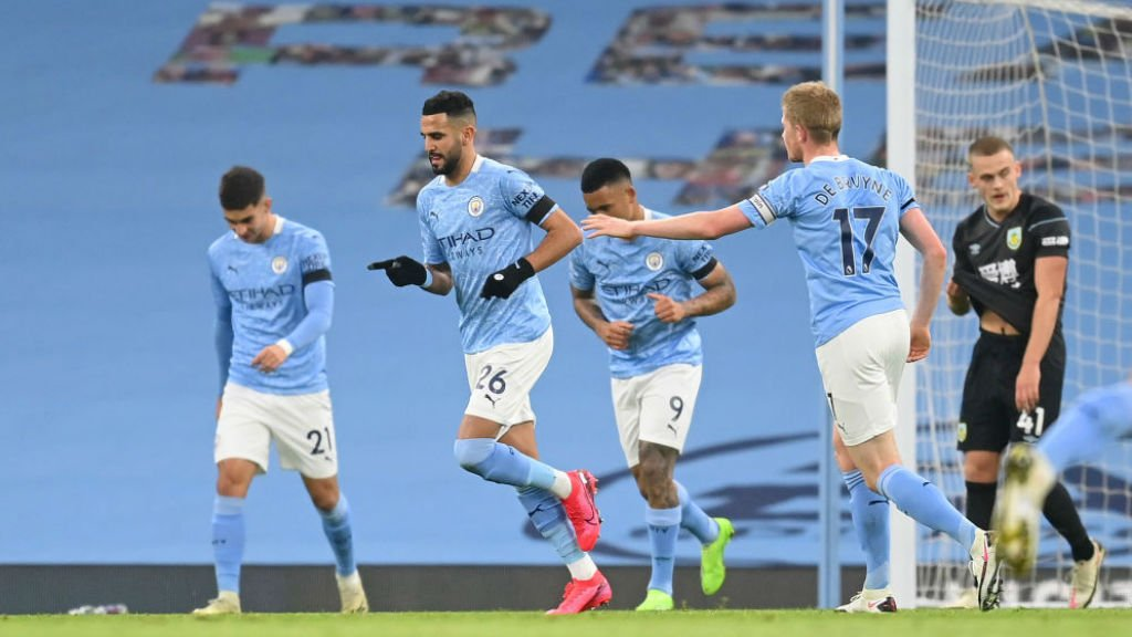 City 5-0 Burnley: Tous les temps forts
