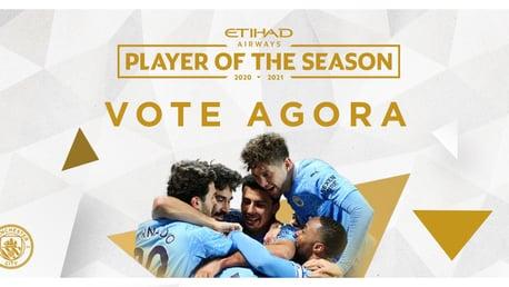 Vote no Jogador da Temporada Etihad
