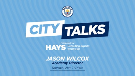 City TALKS: Jason Wilcox, Academy Director