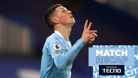 Match Recap: Chelsea 1-3 City