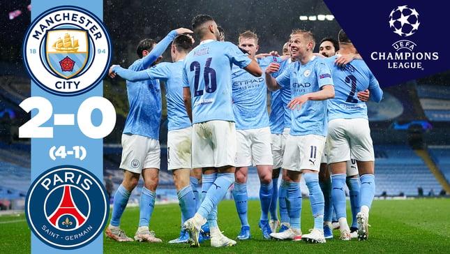 Le résumé: City 2-0 PSG