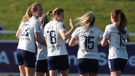 Mewis at the double as four-star City march on