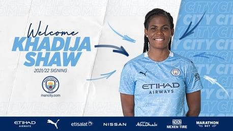 Khadija Shaw ficha por el City