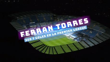 Los goles de Ferran Torres en la Premier League