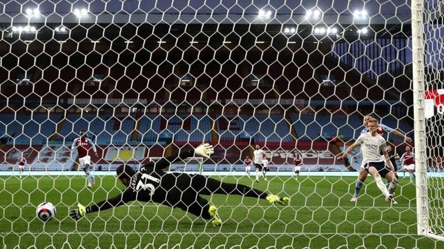 SETBACK : Villa get off to a flyer as John McGinn opens the scoring inside a minute.