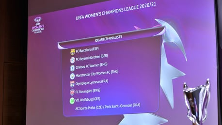 City learn UWCL quarter-final opponents