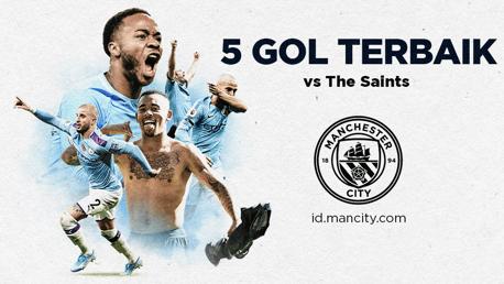 5 Gol Terbaik vs The Saints