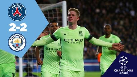 Full-match replay: PSG 2-2 City