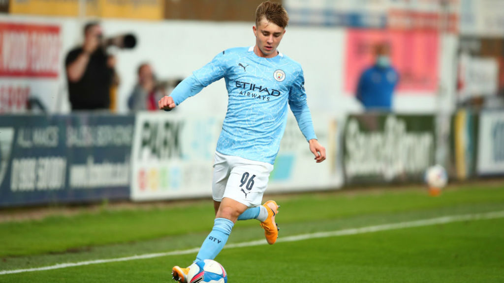INSPIRATION: Ben Knight says the emergence of Liam Delap and Cole Palmer into the City first team is a huge incentive