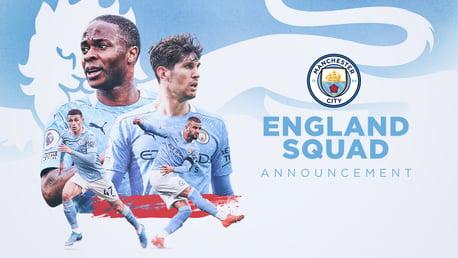 Cuarteto del City a la EURO con Inglaterra