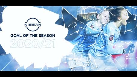 Gol Nissan de la Temporada: Caroline Weir