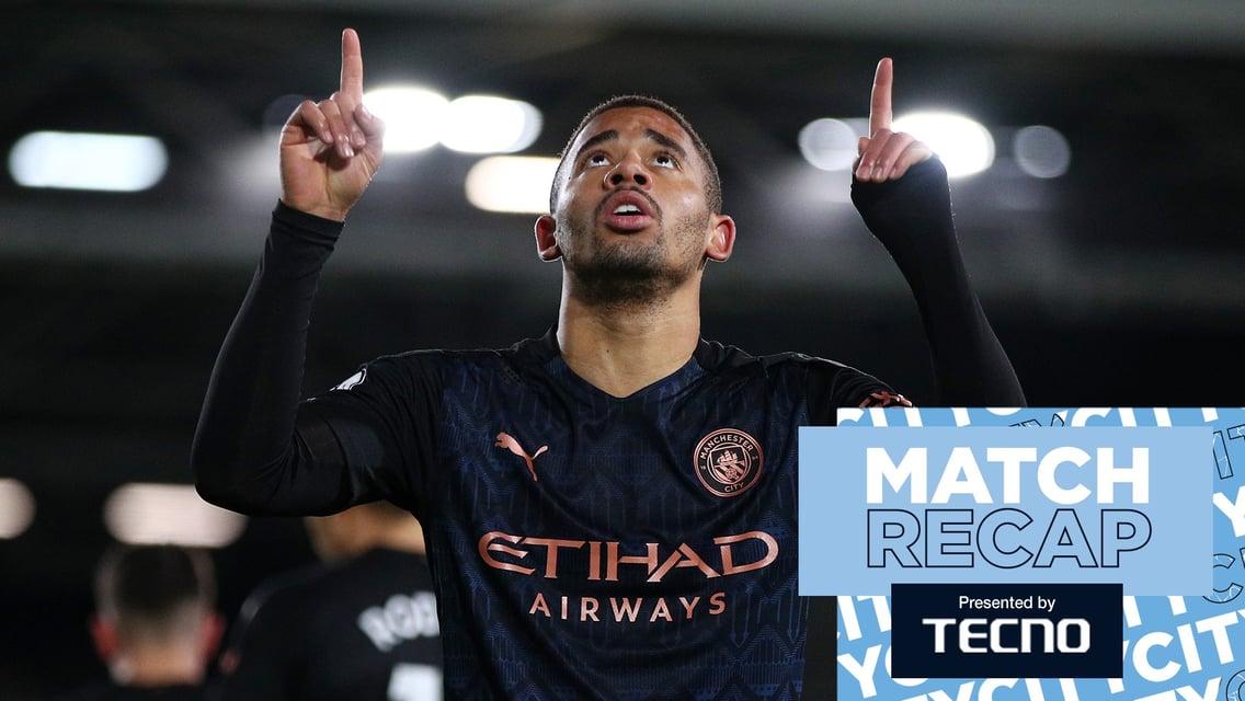 Fulham 0-3 City: Match recap