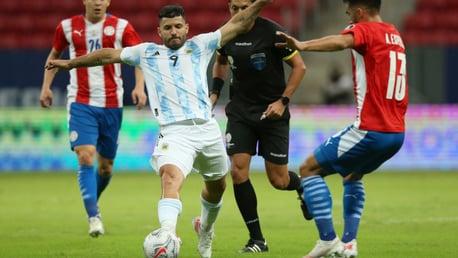 99 not out for Aguero as Argentina reach Copa America quarter-finals