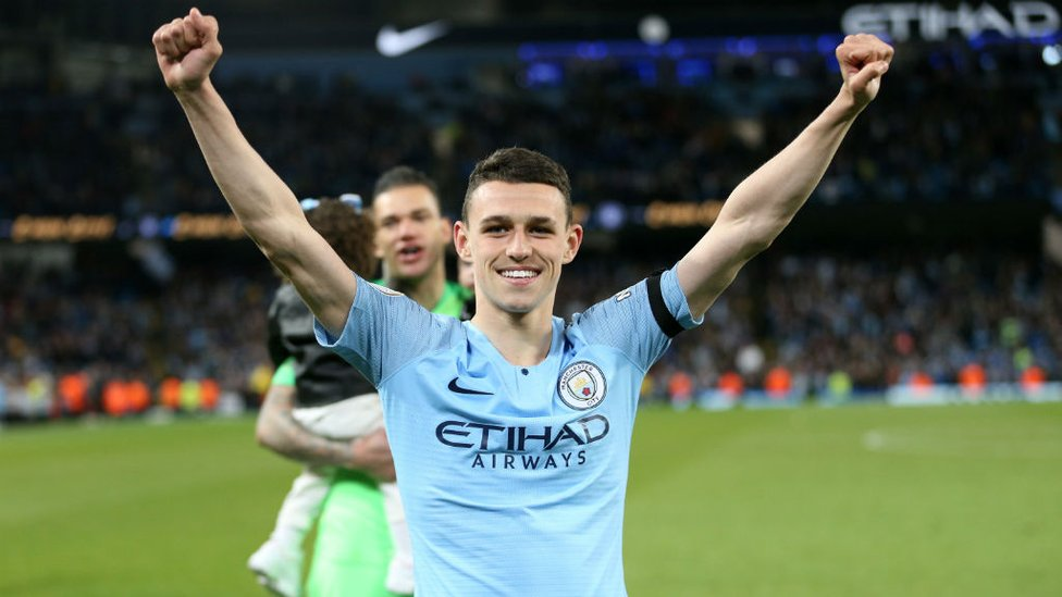 HE'S ONE OF OUR OWN : Phil Foden.