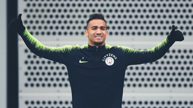 BRAZILIAN BLEND : Danilo looks eager to get down to work