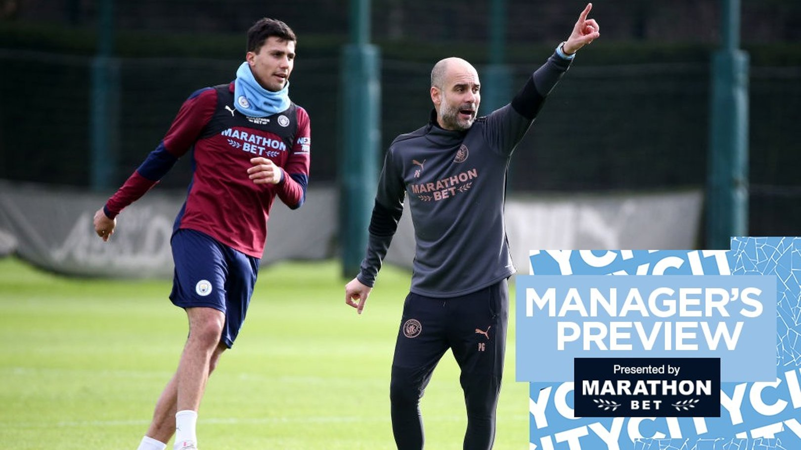 Pep Guardiola: Players must follow my example