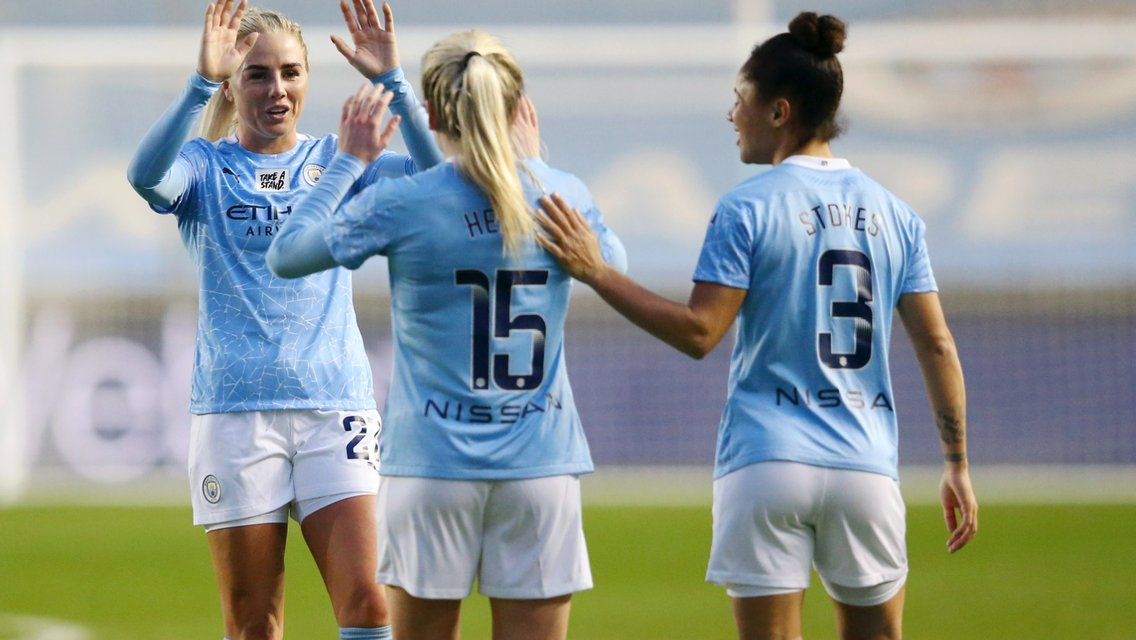 Hemp hits a stunner as City secure UWCL progress