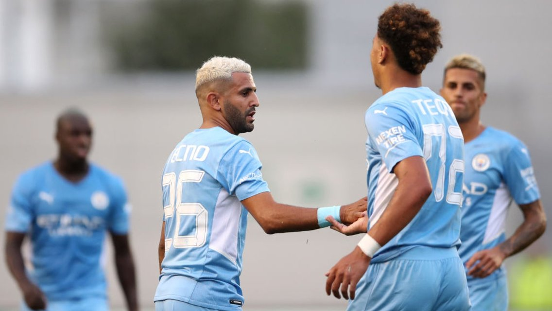 Mahrez and Edozie fire City to friendly victory over Preston