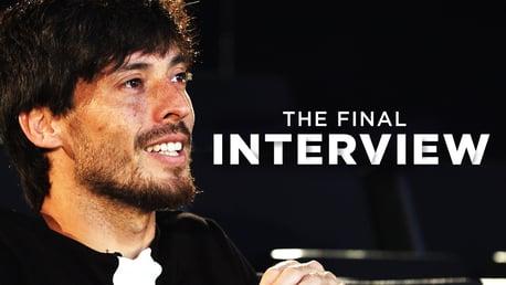 A última entrevista de David Silva