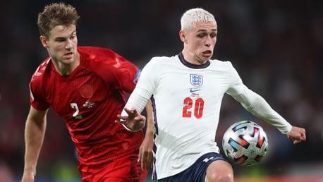 포든 '행사를 갖는 것이 아닌 경기를 해 나가는 것을 목표로 하는 잉글랜드'