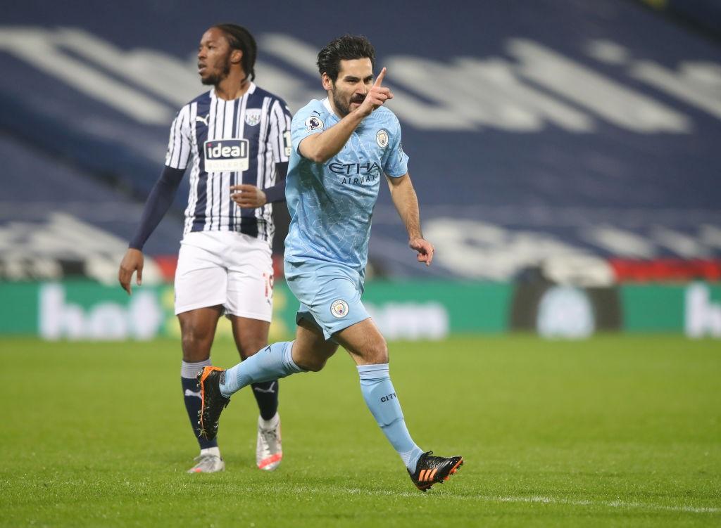 KUNDOGAN. : Ilkay Gündogan anotó dos goles en The Hawthorns.