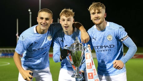 City youngsters named in England development squads