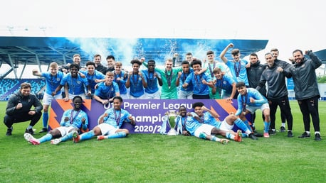 Gallery: City Under-18s' title-winning campaign in pictures