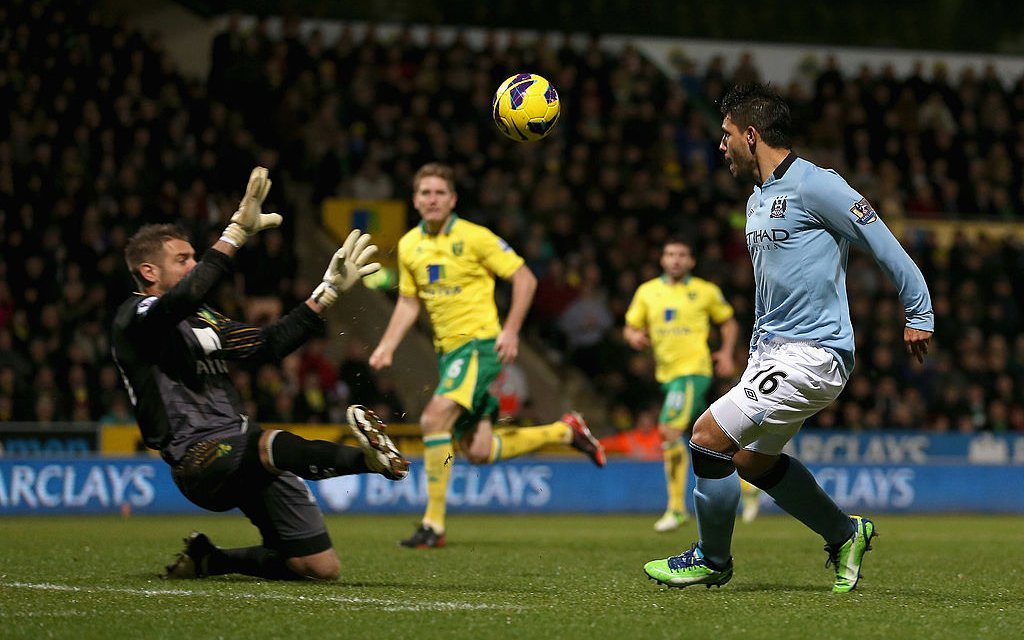 Cuplikan Klasik: Norwich 3-4 City