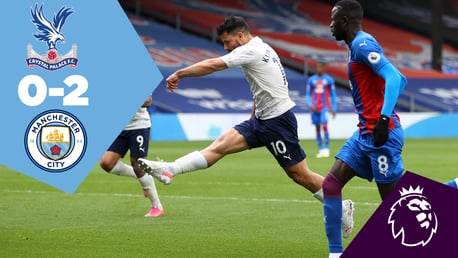 Crystal Palace 0-2 City: Full-match replay