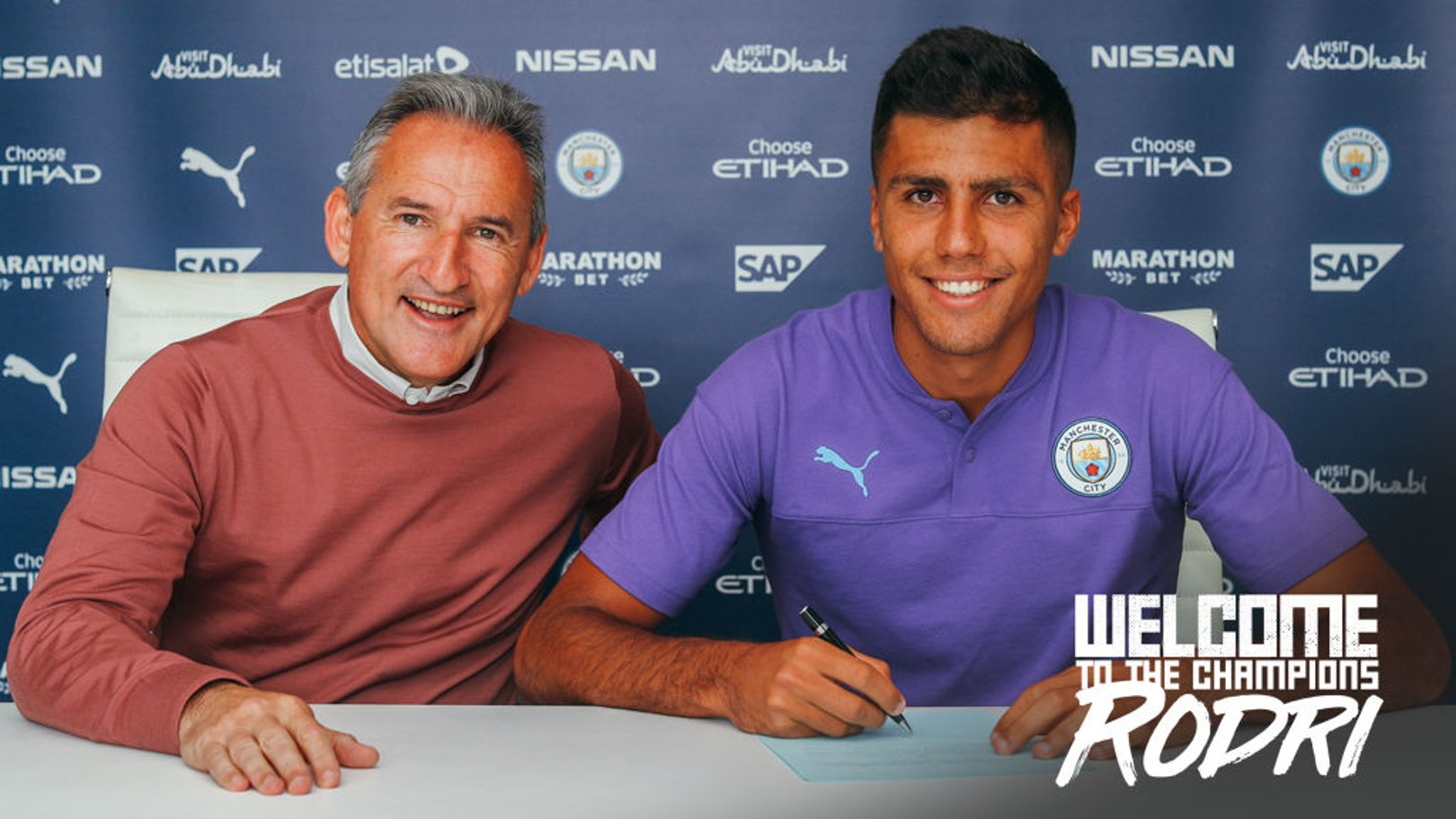 DONE DEAL: City have completed the signing of Rodri from Atletico Madrid