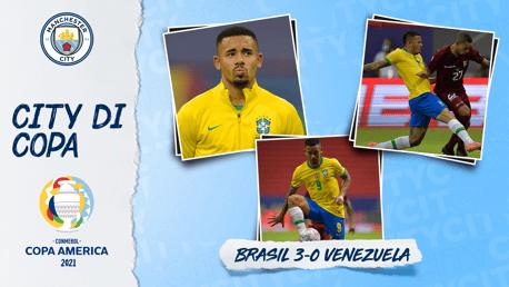 Jesus Bantu Brasil Awali Copa America Dengan Kemenangan