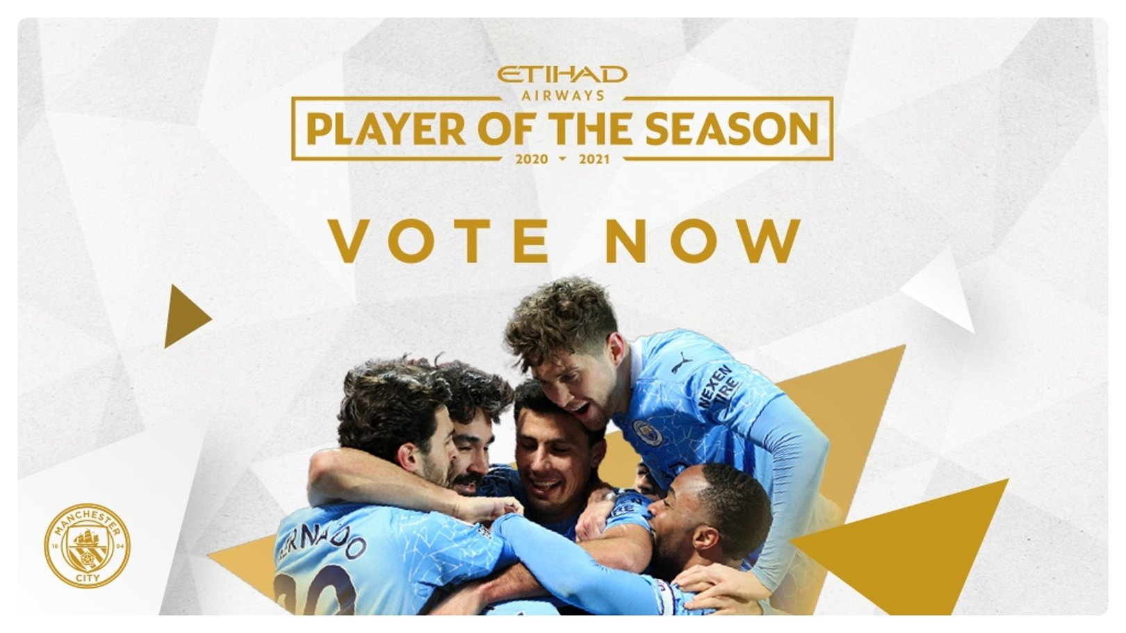 Vote for your Etihad Player of the Season!