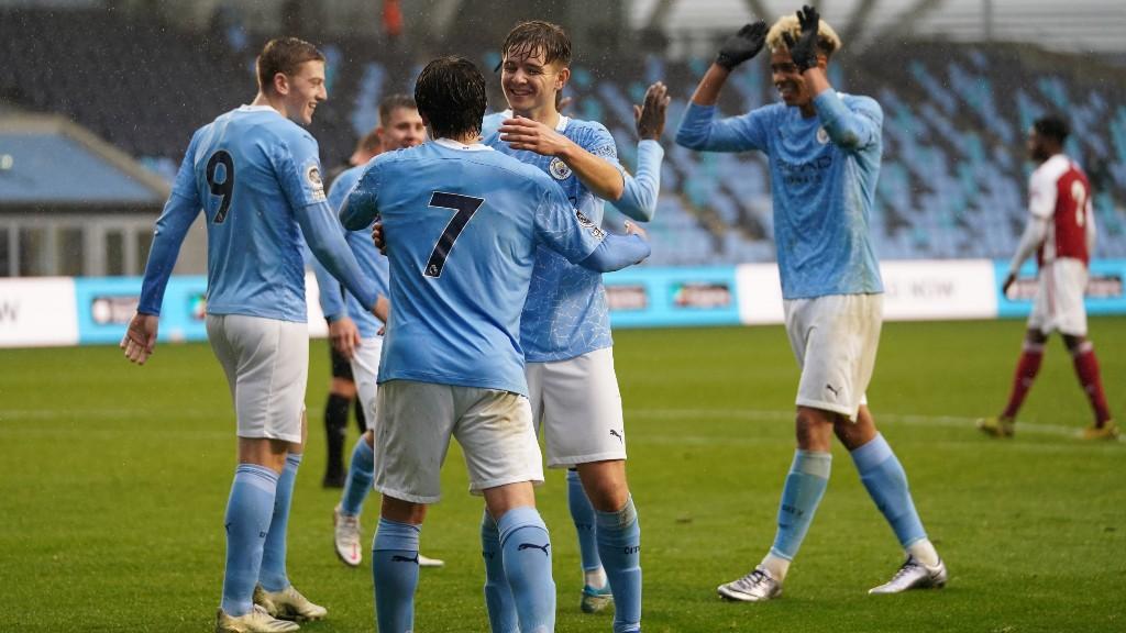 City's maiden PL2 title triumph in pictures
