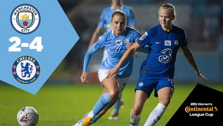 City 2-4 Chelsea: Conti Cup Full Match Replay