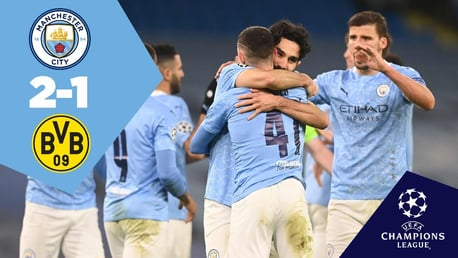City 2-1 Dortmund: Full-Match replay