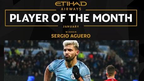 Sergio Aguero: Etihad Player of the Month Q&A