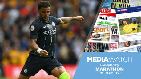 A CLASS APART: Kyle Walker has been described as the best right-back in the world by England colleague Kieran Trippier