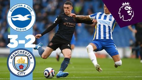 Brighton 3-2 City: Extended highlights