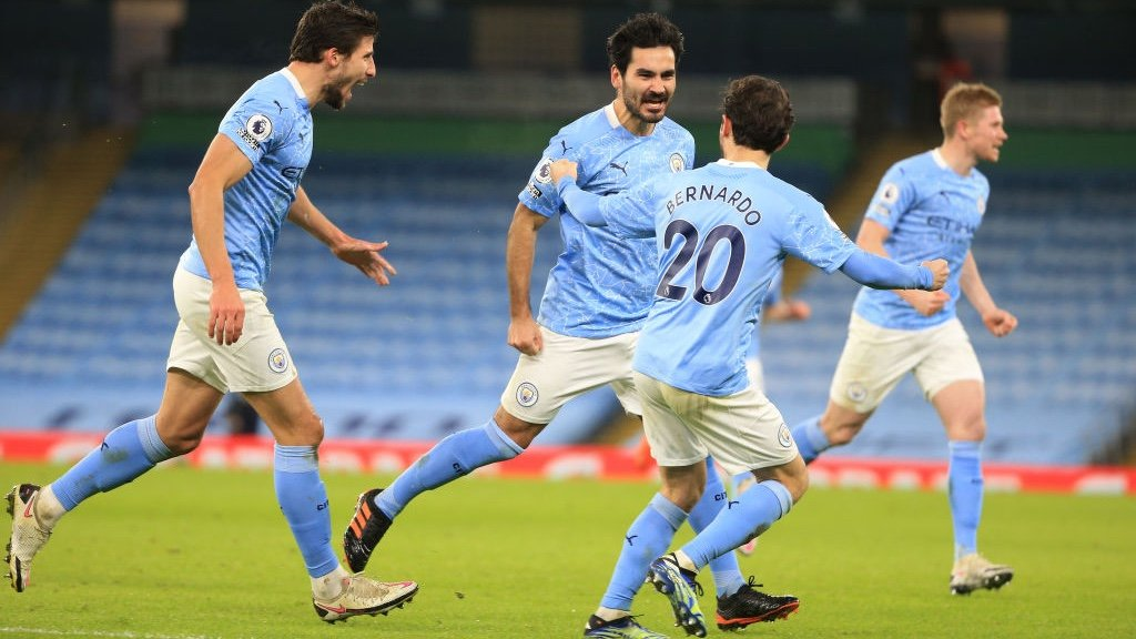 City 4-0 Crystal Palace: Extended highlights