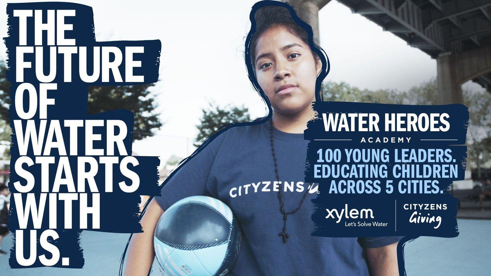 Xylem e Cityzens Giving lançam programa que fornecerá educação vital sobre a Àgua a 5 000 jovens