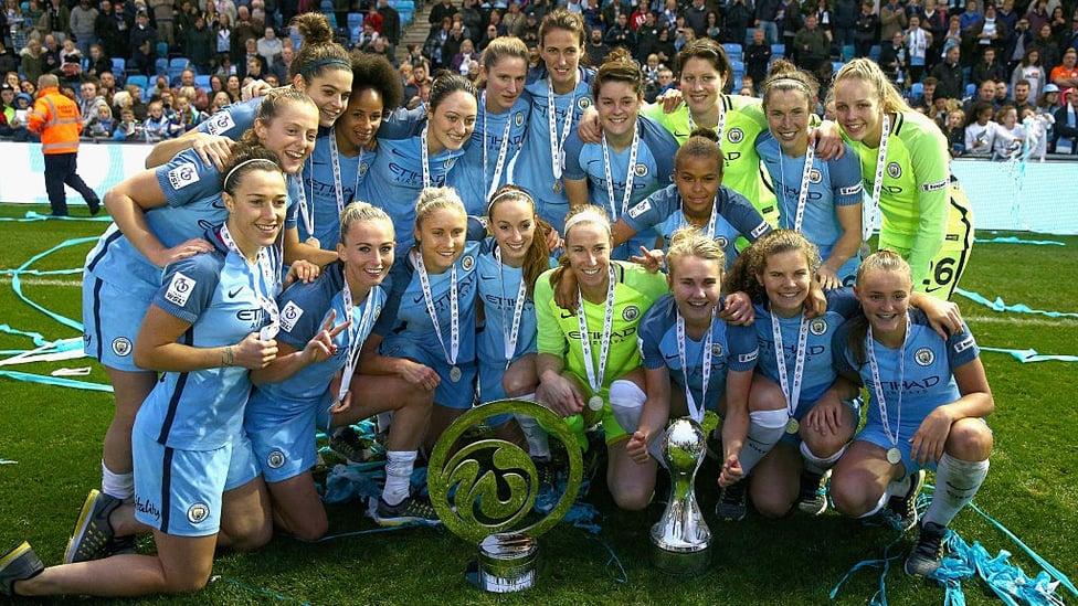 September 2016 : City tak terkalahkan sepanjang musim untuk menjadi juara FA WSL untuk pertama kalinya.